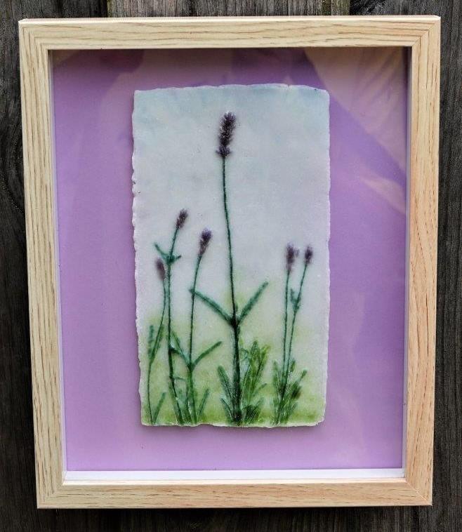 Lavendel (verkocht) - foto Joop Savelberg