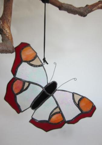 Glazen vlinder