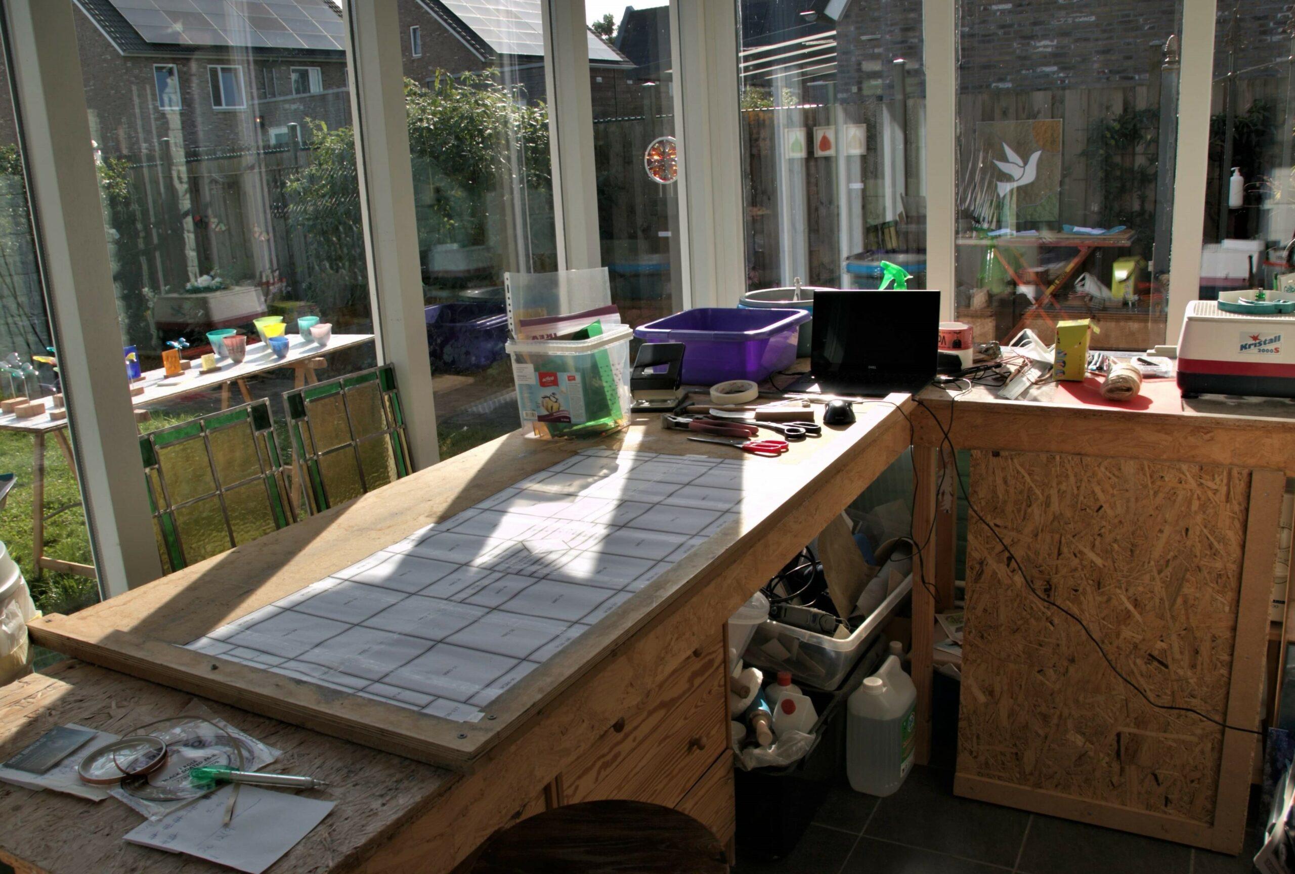 atelier aan huis, NENS Glaskunst